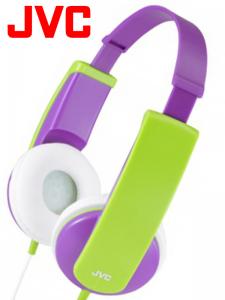 JVC HA-KD5 - fioletowe
