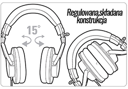 Regulowane kopuły uszne