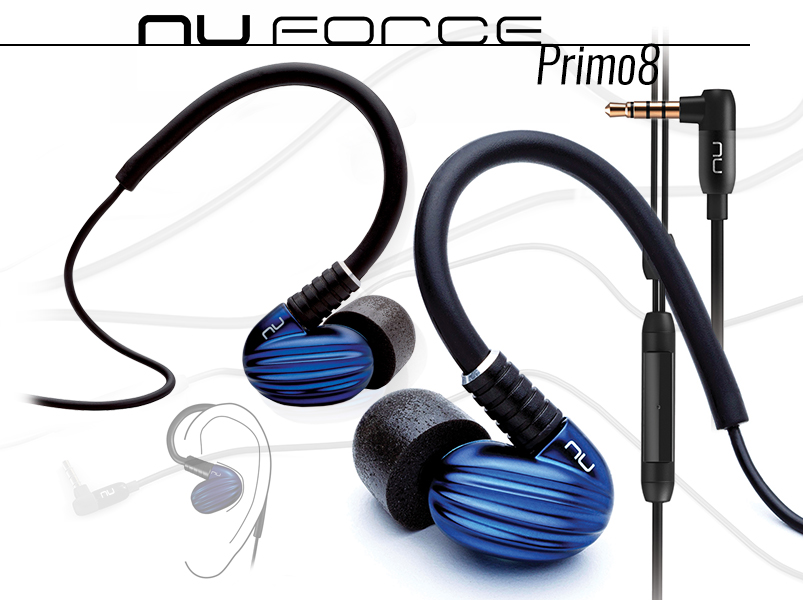 NuForce Primo8